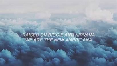 Lyrics Halsey Americana Repeat Rock Homage Coincidence
