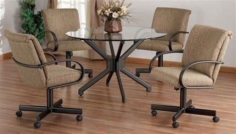 dining room chairs  casters foter dining room
