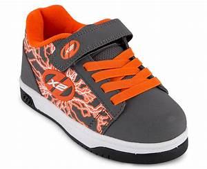 Heelys Wheel Size Chart Heelys Boys 39 Dual Up X2 Wheel Shoe Charcoal Orange