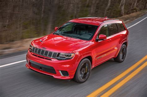 trackhawk jeep cherokee 2018 jeep grand cherokee trackhawk priced at 86 995 the