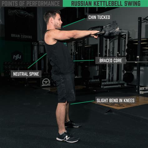 kettlebell russian swing american onnit swings vs points academy performance performing exercise kettlebells workout neutral spine lat training workouts mistakes