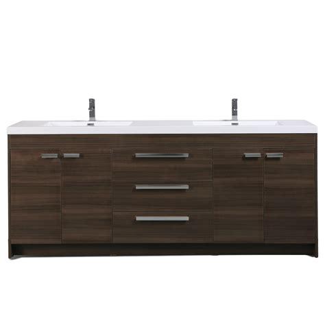 eviva lugano  grey oak modern bathroom vanity