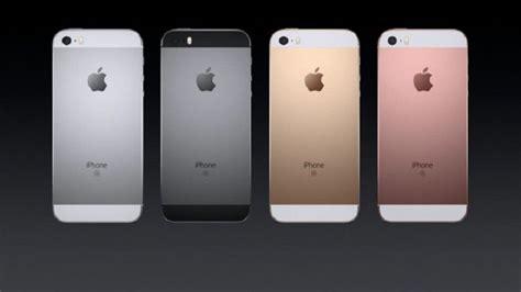 iphone y iphone se especificaciones y precio