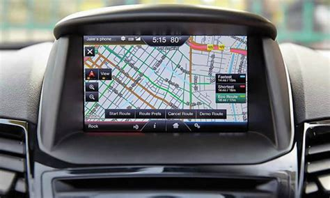 fordlincoln  touch sync navigation upgrade adc mobile