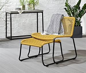 Sessel Mit Fußteil : lounge sessel mit fussteil gelb online bestellen bei tchibo 338324 ~ Watch28wear.com Haus und Dekorationen