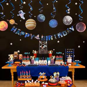 Outer, Space, Theme, Party, Decoration, Solar, System, Star, Universe, Galaxy, Kids, Birthday, Party
