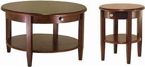 concord drawer round coffee table 94231 winsome With round wooden coffee table with drawers