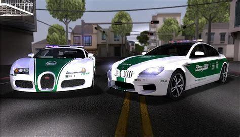 Gta San Andreas 2009 Bugatti Veyron 16.4 Dubai Police Mod