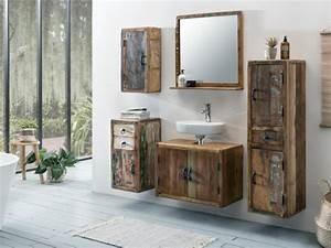 Badmöbel Set Holzoptik : badset kalkutta woodkings shop ~ Frokenaadalensverden.com Haus und Dekorationen