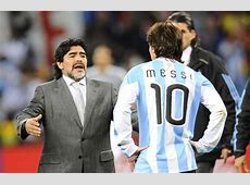Diego Maradona explains why Lionel Messi will never be as