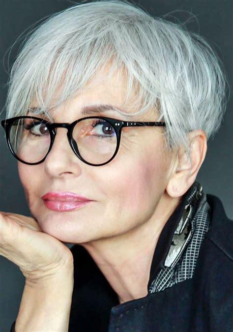Best 25 Short Gray Hair Ideas On Pinterest Grey Pixie