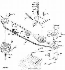 John Deere Lx277 Mower Deck
