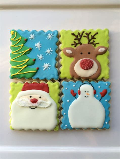 decorated sugar cookies ideas  pinterest