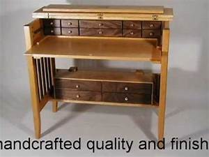 Handcrafted Fly Tying Desk - YouTube