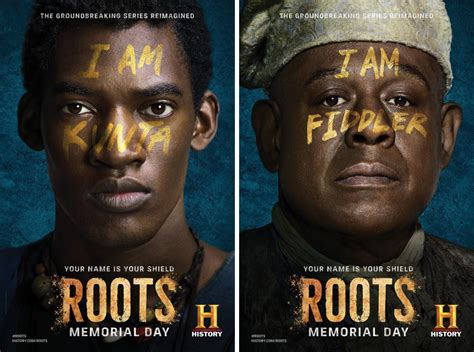 The Ratscape Archives | Character posters for TV mini series, Roots (2016)