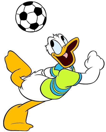 Donald Duck Sports Clipart