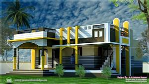 New style house design, front of house elevation drawing