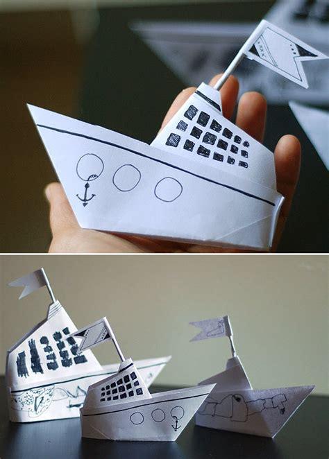 pliage bateau origami