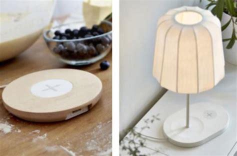 ikea lance des meubles pour charger smartphone sans fil