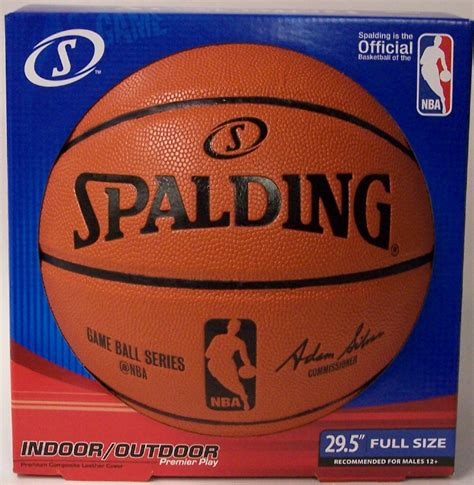 spalding nba game ball series indoor outdoor full size