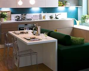 Very small kitchen interior design kitchen decor design for Interior decoration for very small kitchen