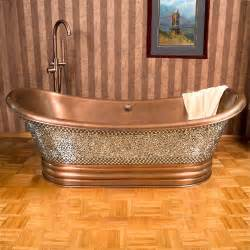 Double Slipper Copper Tub