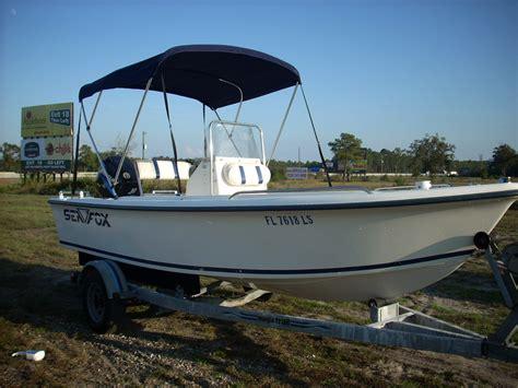 Boat Bimini Top Center Console by 2002 Sea Fox 172 Center Console 17 5 Center Console Used