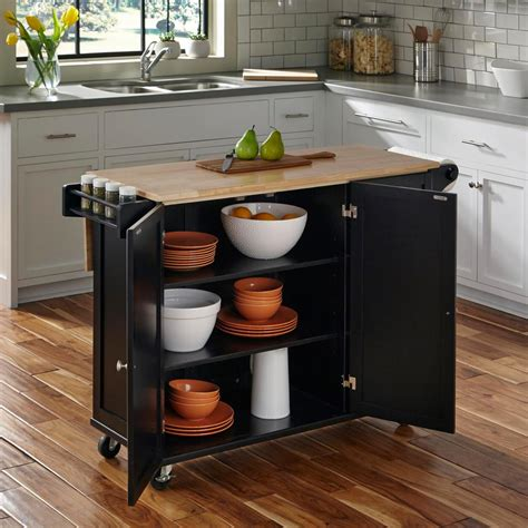 kitchen islands carts dolly liberty black kitchen cart 4510 95 the