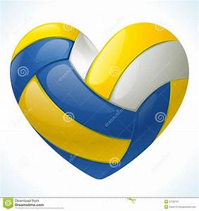 I, Love, Volleyball, Stock, Vector, Illustration, Of, Design