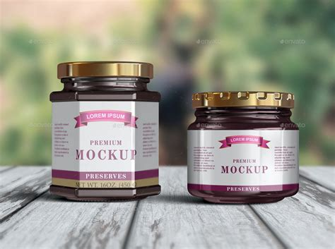 Download mockup provides you great collection of free psd mockup resources. 10 Jelly / Jam / Honey Jars Mockup by Fusionhorn ...