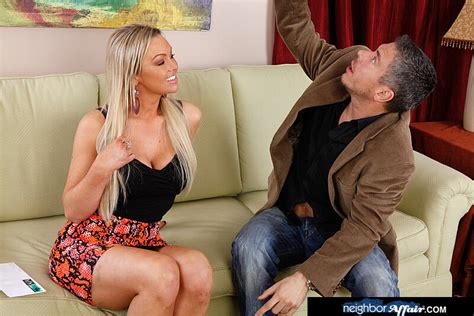 Blonde Abbey Brooks Fucking In The Couch With Her Tits