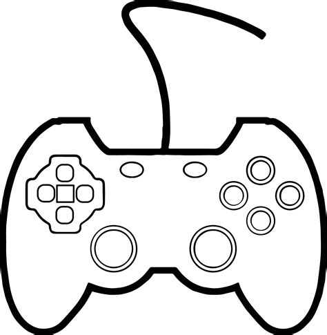 joypad  mad processor playing computer games coloring