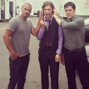 Shemar, Matthew & Thomas - Matthew Gray Gubler Photo ...