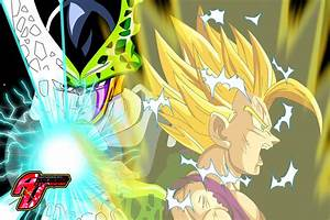Gohan vs perfect Cell by momosexes on DeviantArt