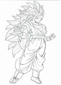 Super Saiyan 3 Goku By Shadowsabre On Deviantart