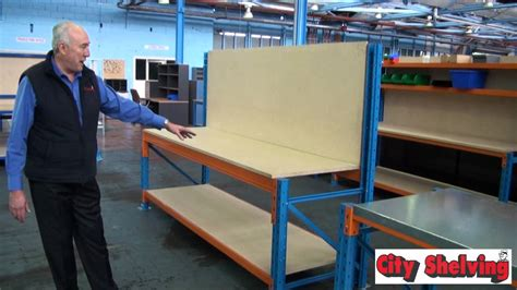 city shelving pallet racking work benches information