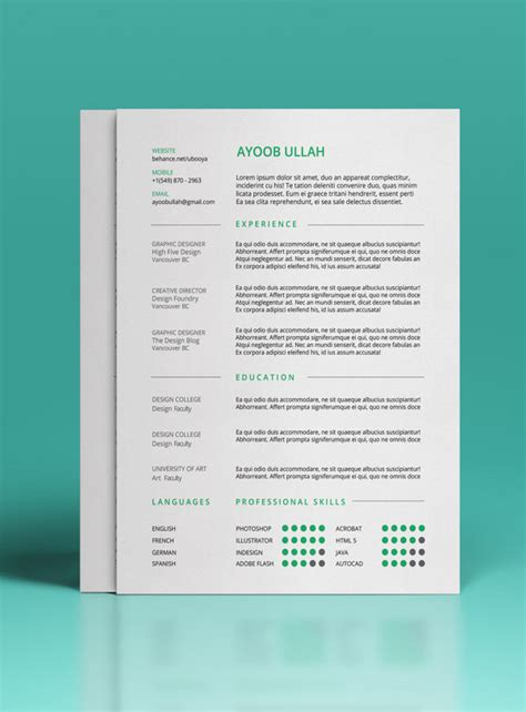 27 beautiful resume designs gratis 30 plantillas para curriculum de alto impacto mclanfranconi