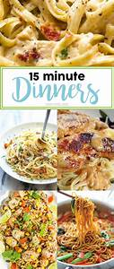 15 Minute Dinner Ideas Page 9 of 17 Smart School House