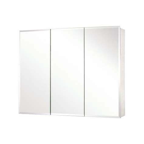 pegasus sp4590 31 inch by 48 inch tri view beveled mirror