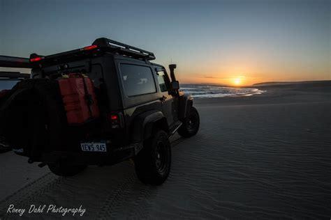 jeep beach sunset jeep wrangler jk swb modified