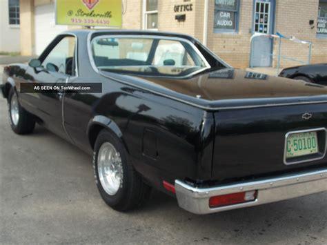 1978 El Camino Specs by 1978 Chevrolet El Camino