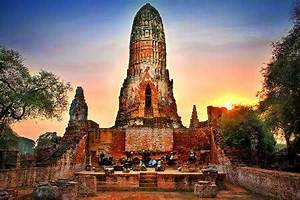 Unesco  Phra Nakhon Si Ayutthaya Historical City And Satellite City