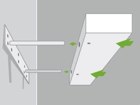 meuble d angle cuisine leroy merlin comment poser une tablette avec une fixation invisible