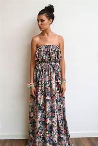 best 25 patron robe longue ideas on pinterest jupe With robe fleurie ete