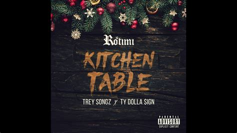 rotimi feattrey songz ty dolla ign kitchen table remix youtube
