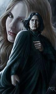 Severus Snape | Snape and lily, Harry potter fan art ...