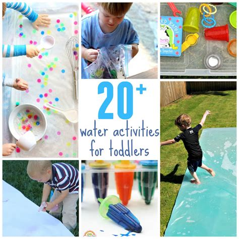 toddler approved 20 outdoor water activities for toddlers 654 | water%2Bactivities%2Btoddlers