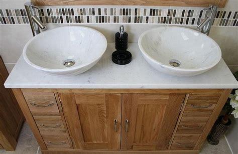 Bathroom Vanity Twin Set Cabinet Double Twin Sink Bowl
