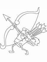 Quiver Coloring Archery Arco Flecha Desenho Colorir Shooting Bow Dibujos Wow Colorear Arcos Sendo Atirada Tudodesenhos Desenhos Printable Amor Aprender sketch template