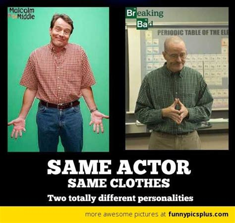 Breaking Bad Malcolm In The Middle Meme - malcolm in the middle vs breaking bad tv pinterest bryan cranston and the o jays